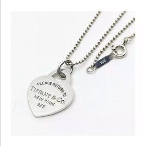 SALE SAT&SUN ONLY Tiffany & Co Lg Heart Necklace